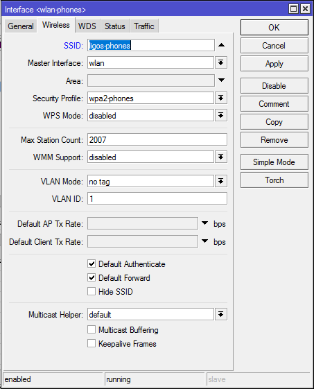 Create Another WiFi Network on a Mikrotik Router | Murray's Blog