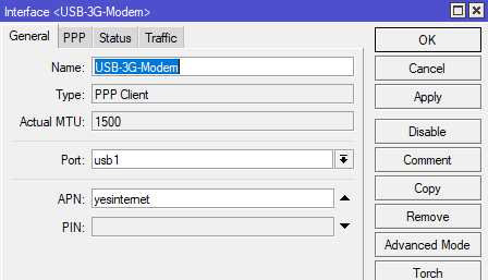 Mikrotik and LTE via USB Modem (and Failover) | Murray's Blog