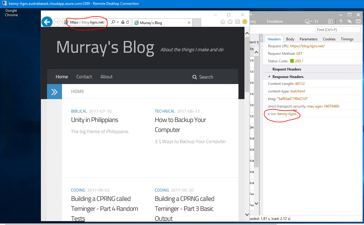 On Self-Hosting, Outages and Azure | Murray's Blog