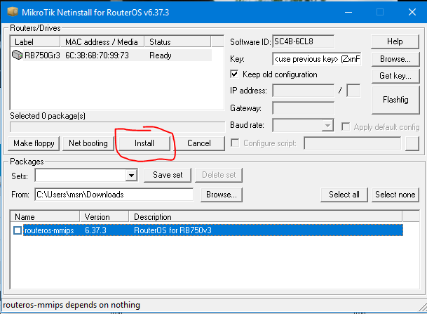 Recover a Broken Mikrotik Device | Murray's Blog