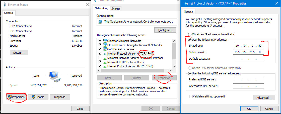 how to make your ip static windows 10
